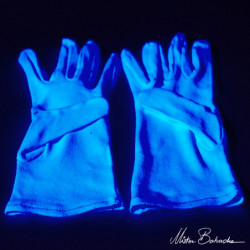 GANTS UV/Blanc (la paire)