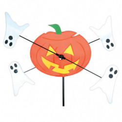 WHIRLIGIG - 10 IN. PUMPKIN