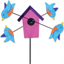 WHIRLIGIG - BLUEBIRD BIRDHOUSE