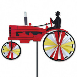23 IN. OLD TRACTOR - RED