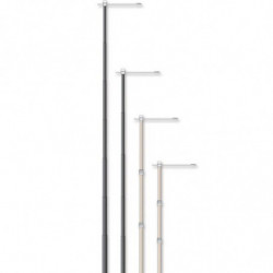 HEAVY DUTY BANNER POLE - 14'