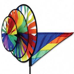 PK TRIPLE SPINNER - RAINBOW