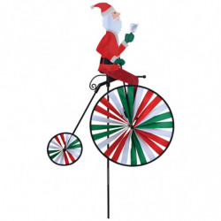 PK HIGH WHEEL BIKE - SANTA